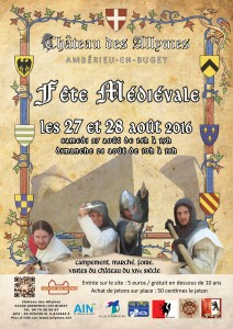 Fête Médiévale Allymes - août 2016
