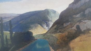 Permalink to: Paysages de la vallée de l'Ain, regards du peintre Gabriel Blétel